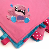 Monstrous Baby Blanket_image