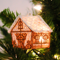 Lace Gingerbread House_image