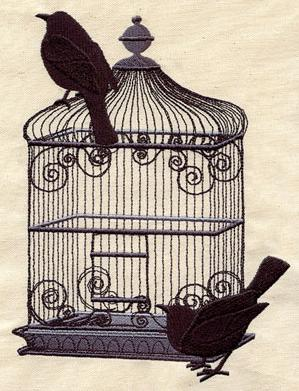 Black Bird Cage_image