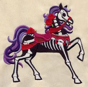 Haunted Carousel Horse_image