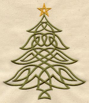 Celtic Christmas Tree_image