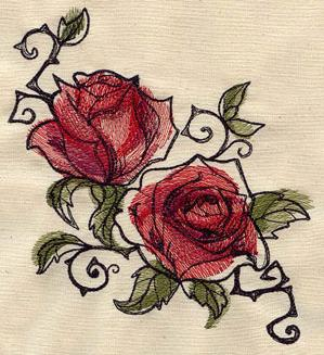 Painted Roses_image