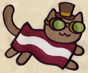 Steampunk Bacon Cat_image
