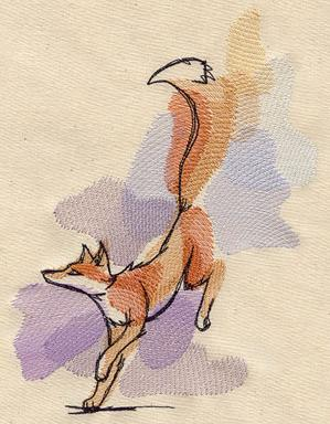 Painted Fox_image