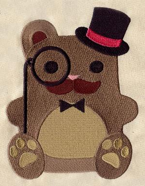 Dapper Bear_image