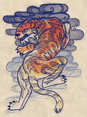 The Seven Seas - Tiger Tattoo_image