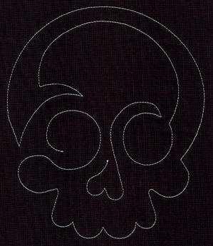 Quilting Skull (Single Run)_image