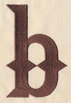 Steampunk Letter B - Lowercase_image