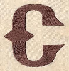 Steampunk Letter C - Lowercase_image