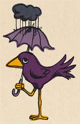 Rainy Day Bird_image