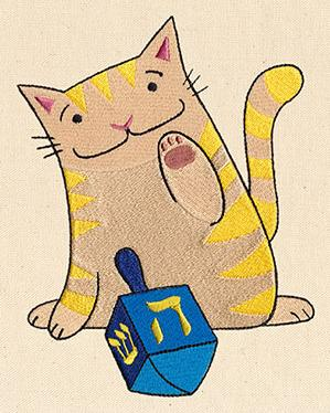 Dreidel Kitty_image