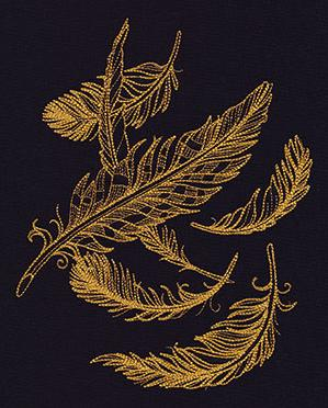 Gilded Feathers_image