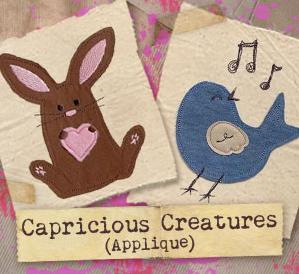 Capricious Creatures (Applique) (Design Pack)_image