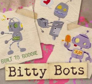 Bitty Bots (Design Pack)_image