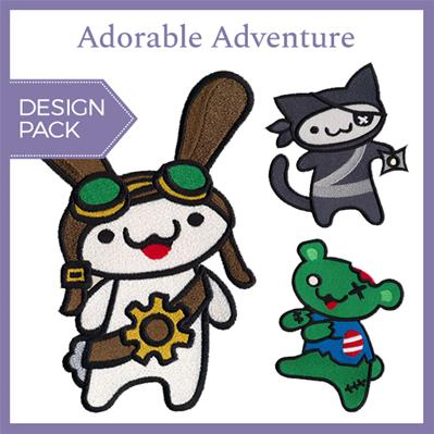 Adorable Adventure (Design Pack)_image