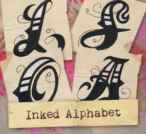 Inked Alphabet (Design Pack)_image