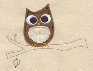 Wise Old Owl (Applique)_image