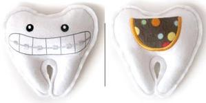 Smile - Braces (Tooth Fairy Pillow)_image