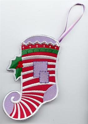 Elfin Stocking (In the Hoop)_image