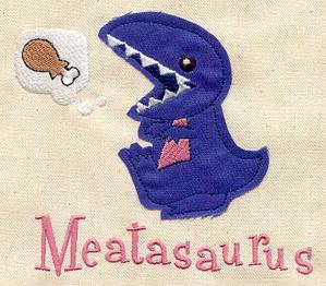 Meatasaurus (Applique)_image