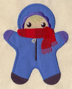 Snowsuit Kid (Applique)_image