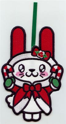Kawaii Christmas - Bunny (Ornament)_image