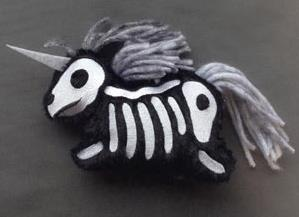 Skelly Plushies - Unicorn (Stuffed)_image