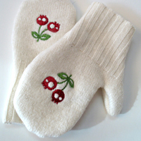 Upcycled Sweater Mittens_image