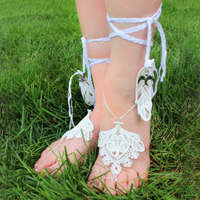 Barefoot Lace Sandals_image