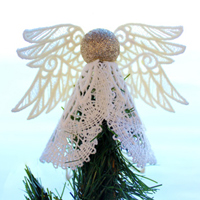 Lace Christmas Angel_image