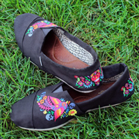 Revamped & Recovered Fabric Shoes_image