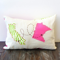 State Love Pillow_image