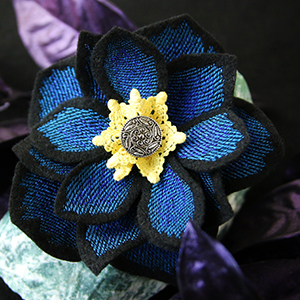 Freestanding Fabric Hellebore_image