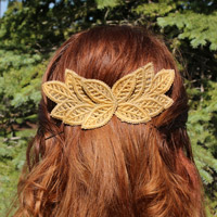 Leafy Lace Hair Accessories_image