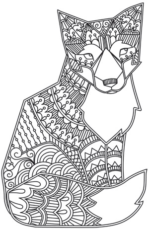 printable art therapy coloring pages - photo#4