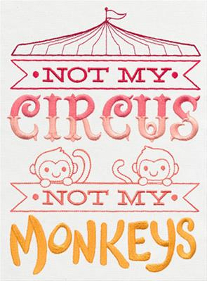 Not My Circus, Not My Monkeys_image