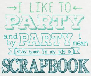 I Like to Party - Scrapbook_image