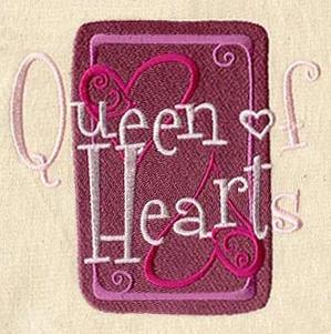 Queen of Hearts Card_image