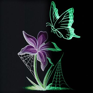 Enchanted Garden - Butterfly_image