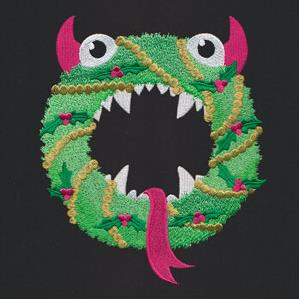 Merry Monster Wreath_image