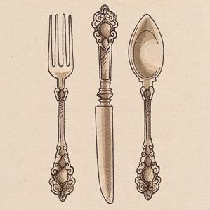 French Cafe - Utensils_image