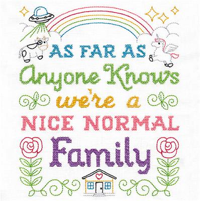 Cheeky Samplers - Nice Normal Family_image