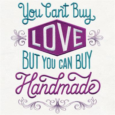 You Can't Buy Love but You Can Buy Handmade_image