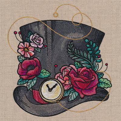 Blooming Mad Hatter Hat_image