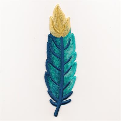 Gold-Tipped Feather (Freestanding)_image