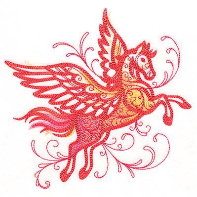Fanciful Flourishes - Pegasus_image