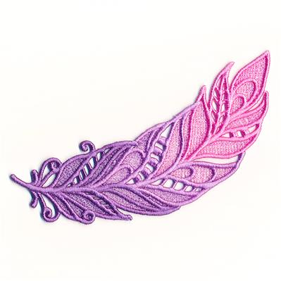 Magical Ombre Feather (Lace)_image