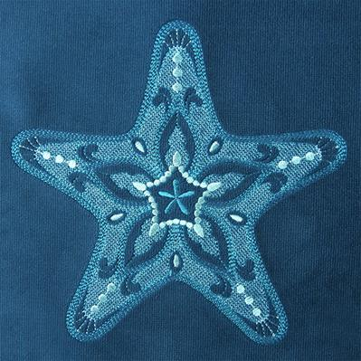 Ocean Breeze Starfish (Embossed)_image