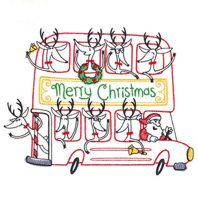 Double-Decker Christmas Bus_image
