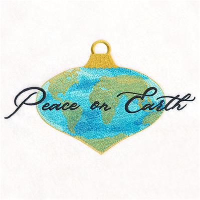 Peace on Earth Ornament_image